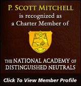 Charter Member of the National Academy of Distinguished Neutrals